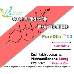 PureDbol 10mg, Methandienone 10mg / 5 x 100 tabs (500tabs deal)