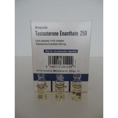 TESTOSTERONE ENANTHATE 250 (250mg/1ml.) IRAN