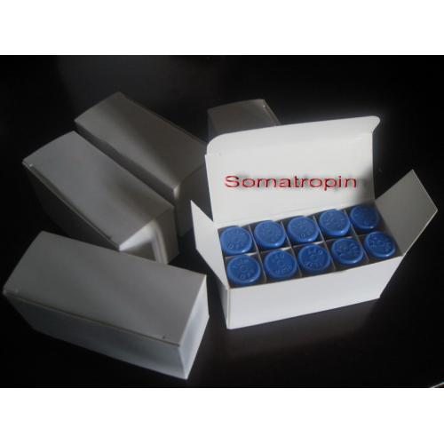 HGH (BLUE TOPS)  5 x 100 iu\'s kit + FREE 2 x 10ml Testosterone v